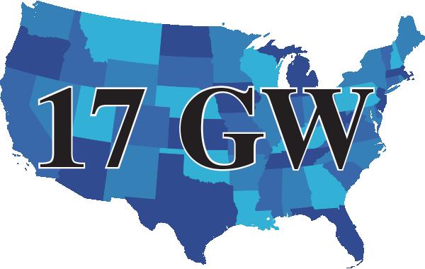17 GW map